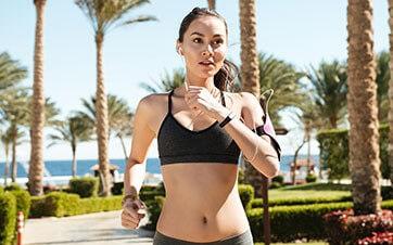 Prática de esportes e alimentação saudável