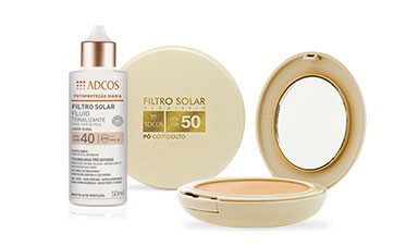 Filtro solar específico para peles oleosas